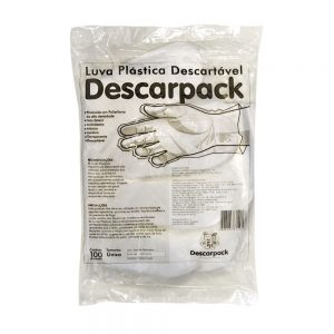Luva Descartável Descarpack